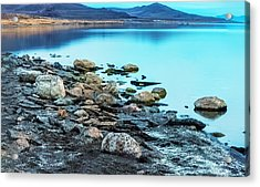 Not A Ripple Acrylic Print by Nancy Marie Ricketts