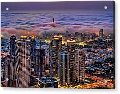 Acrylic Print featuring the photograph Not Hong Kong by Ron Shoshani