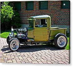 Acrylic Print featuring the photograph Not So Typical Pick-up by Christopher McKenzie