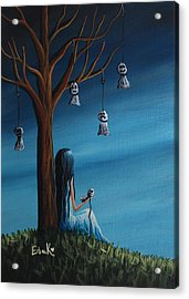 Not Such A Lonely Place After All Original Art Acrylic Print by Shawna Erback