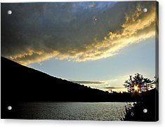 Notch Sunset Acrylic Print