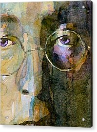 Nothin Gonna Change  My World  Acrylic Print by Paul Lovering
