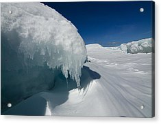 Nothing But Ice Acrylic Print