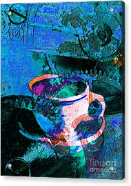 Nothing Like A Hot Cuppa Joe In The Morning To Get The Old Wheels Turning 20130718p168 Acrylic Print
