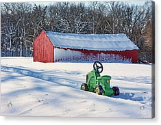 Nothing Runs Like A Deere #1 Acrylic Print