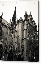 Notre Dame - For Eugene Atget Acrylic Print
