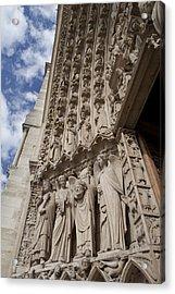 Notre Dame 3 Acrylic Print by Art Ferrier