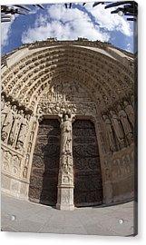 Notre Dame 4 Acrylic Print by Art Ferrier
