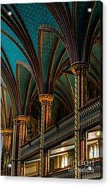 Notre Dame Basilica 2 Acrylic Print