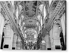 Notre-dame Basilica Acrylic Print