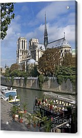 Notre Dame Cathedral. Paris Acrylic Print by Bernard Jaubert