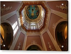 Notre Dame Ceiling Acrylic Print by Dan Sproul