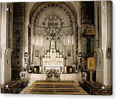 Notre Dame D'afrique Acrylic Print