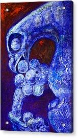 Notre Dame Gargoyle Acrylic Print by Derrick Higgins