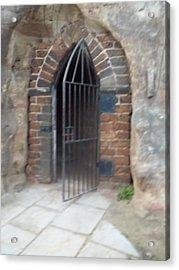 Nottingham Castle Gateway Acrylic Print