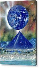 Nova Blue  Acrylic Print by Marc Chambers