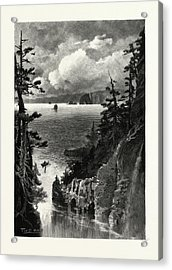 Nova Scotia, Cape Split, From Baxters Harbour Acrylic Print by Canadian School