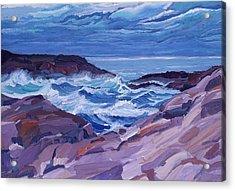 Nova Scotia Coast Acrylic Print by Janet Ashworth