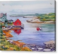 Nova Scotia Harbor Acrylic Print