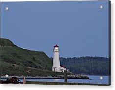 Nova Scotia Lighthouse Acrylic Print by Nancy De Flon