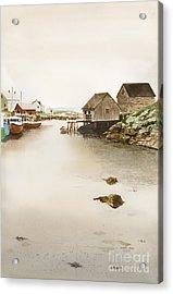 Nova Scotia Acrylic Print by Monte Toon