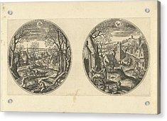 November And December, Adriaen Collaert, Hans Bol Acrylic Print by Adriaen Collaert And Hans Bol And Hans Van Luyck
