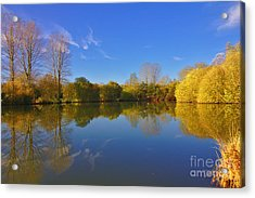 November Lake 1 Acrylic Print