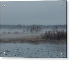 November Mist Acrylic Print