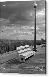 November On The Boardwalk Acrylic Print