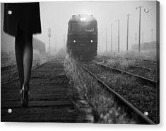 November Passengers Acrylic Print