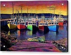 Novi Boats Acrylic Print