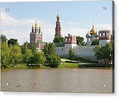 Novodevichy Monastery Acrylic Print
