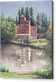 Now And Then - Old Olympia Brewery Acrylic Print