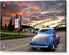 Now Playing Acrylic Print by Tom Straub