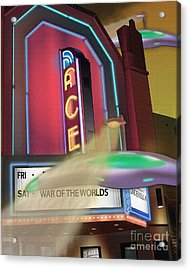 Now Showing Acrylic Print by Michael Lovell