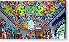 Now That's A Ceiling Acrylic Print by Jim Fitzpatrick
