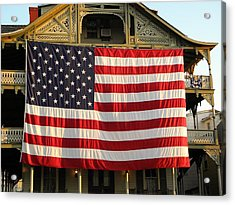 Now This Is A Flag Acrylic Print by John Williams