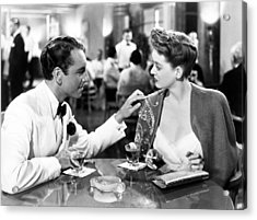 Now, Voyager, From Left, Paul Henreid Acrylic Print by Everett