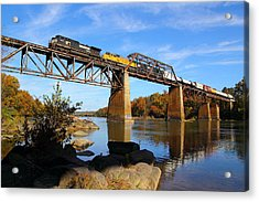 Ns Over The Congaree Acrylic Print
