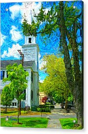 Nt - 155 Acrylic Print by Glen River