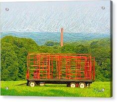 Nt - 930 Acrylic Print by Glen River