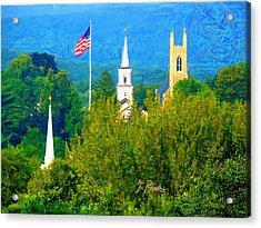 Nt - 964 Acrylic Print by Glen River