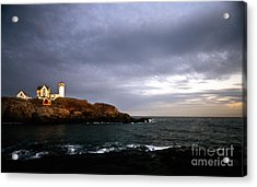 Nubble Christmas Acrylic Print by Skip Willits