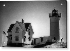Nubble In Maine Acrylic Print by Skip Willits