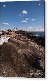Nubble Light Portrait Acrylic Print