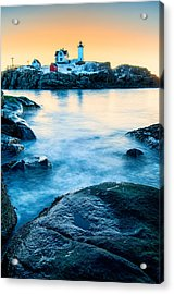 Nubble Light Acrylic Print by Thomas Schoeller