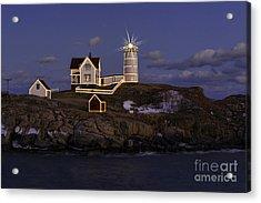 Nubble Lighthouse Ll Acrylic Print