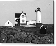 Nubble Lighthouse Acrylic Print by Will Gunadi