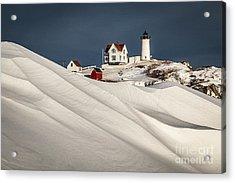 Nubble Snow Drift Acrylic Print