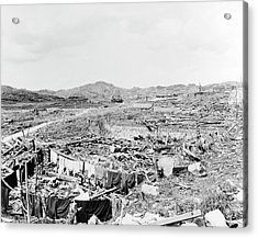 Nuclear Destruction At Nagasaki Acrylic Print